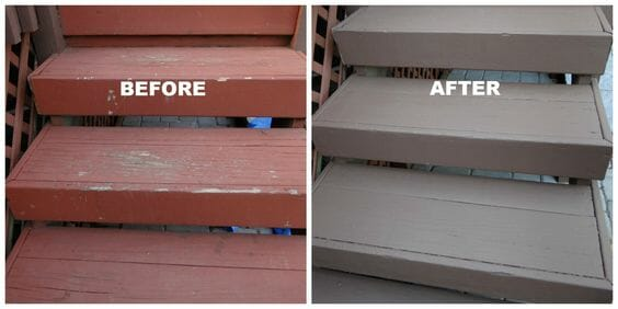how long does deck paint take to dry?